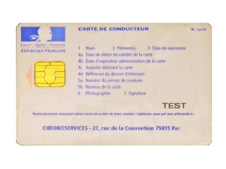Chauffeurskaart